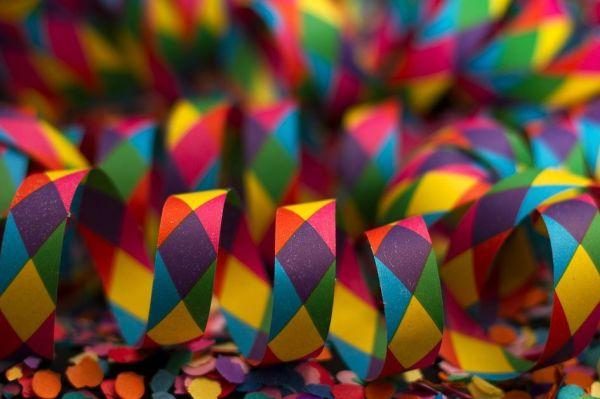 confettis d'anniversaire
