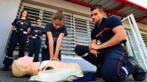Formation secourisme des jeunes pompiers